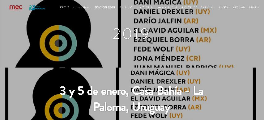"""Llegan """"Las serenadas"""" a La Paloma"""