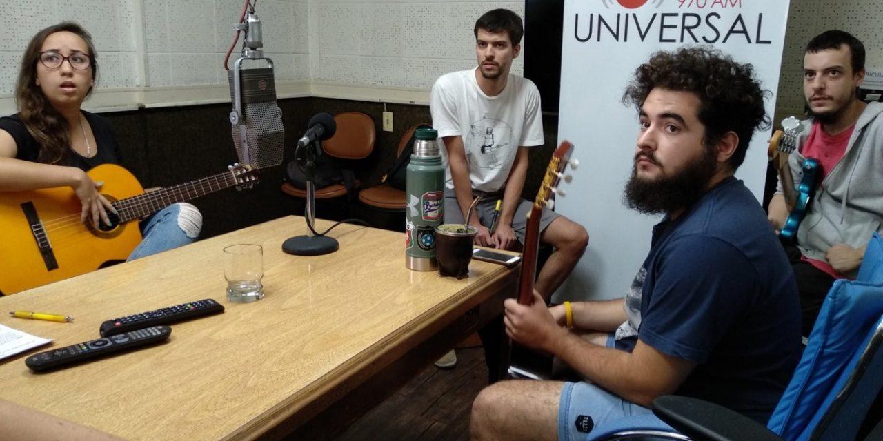 Nómada, la banda emergente que muta de estilo musical
