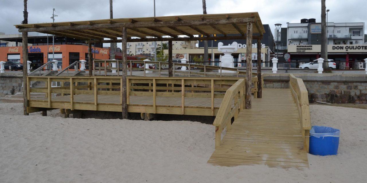 Piriápolis inaugura playa Accesible