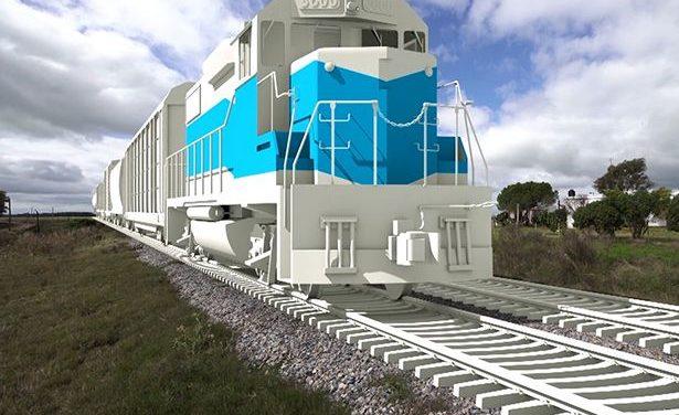 """Rossi: """"Estoy convencido que el Ferrocarril Central es un proyecto fundamental"""""""