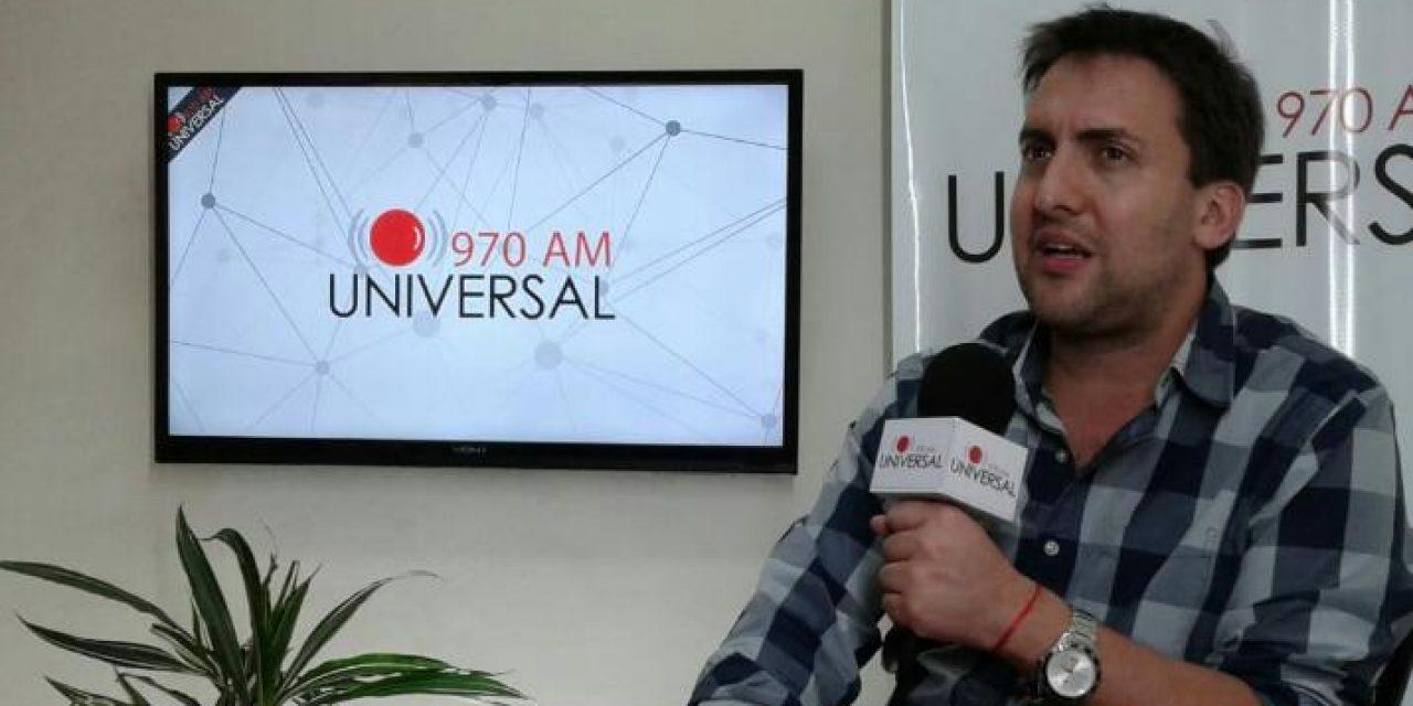 """Diego Sorondo: """"es un desafío que me encanta, tengo muchas aspiraciones"""""""