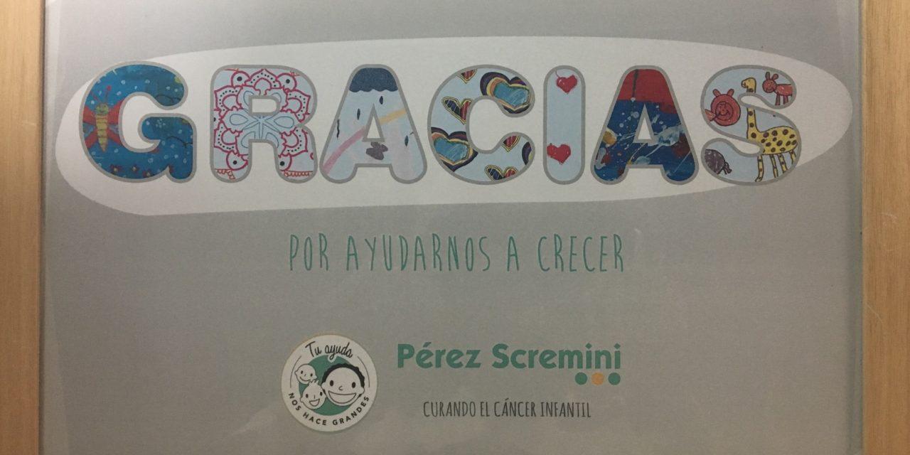 Pérez Scremini entregó reconocimiento a 970 Universal