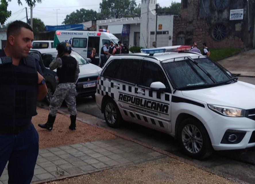 Un delincuente que asaltó una agencia de quinielas fue abatido por la policía