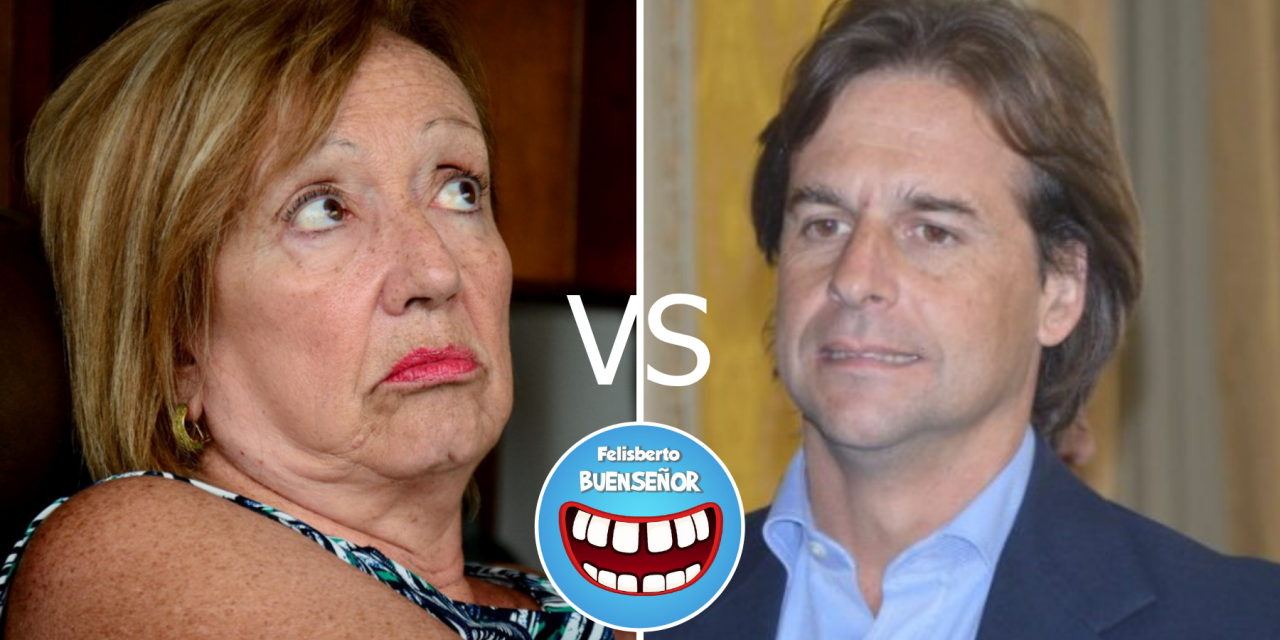"""Buenseñor: """"María Julia Muñoz prendida del cuello de Lacalle Pou"""""""