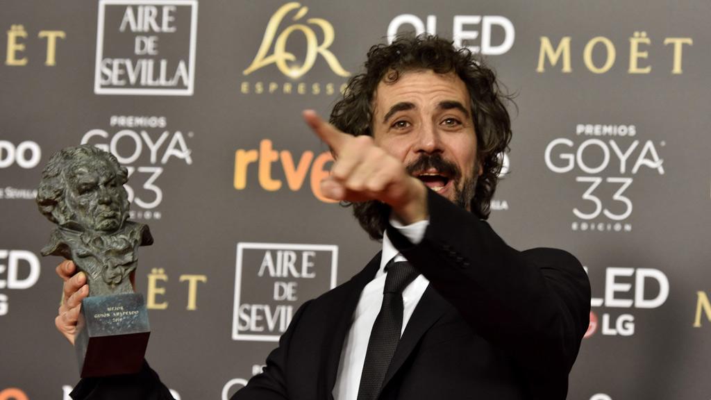 Uruguayo Brechner ganador del Premio Goya