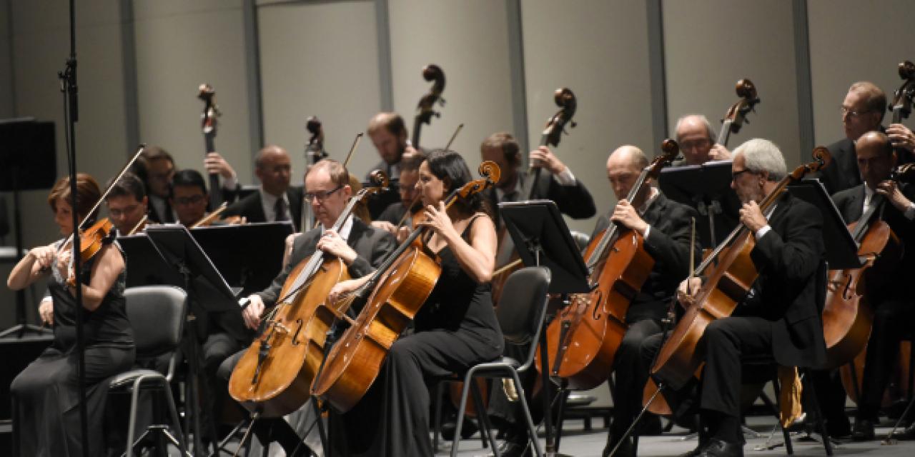 Orquesta Filarmónica al aire libre