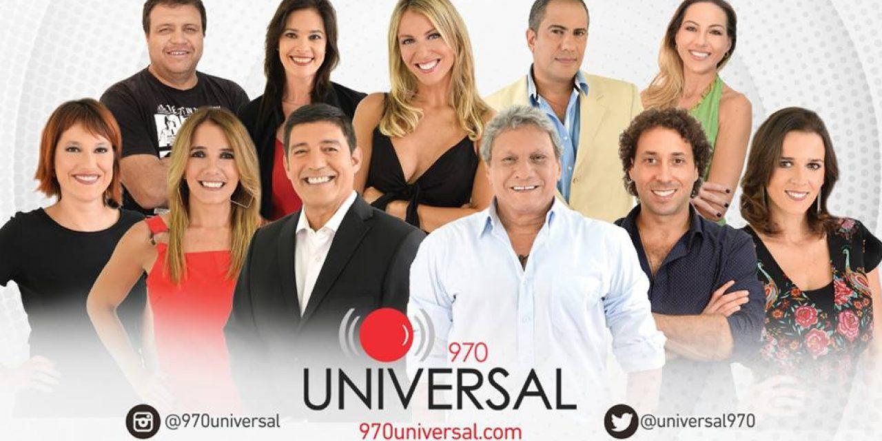 Repasá la programación 2019 de 970 Universal