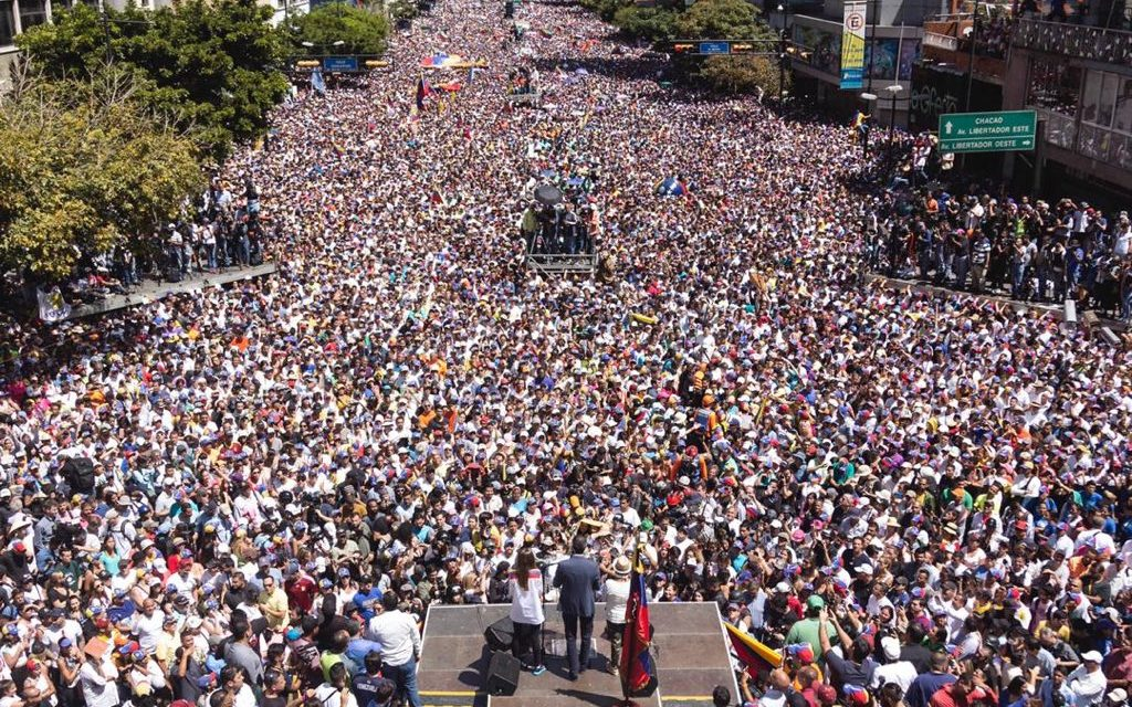 "Guaidó regresó a Venezuela: ""estamos fuertes, seguimos adelante"""