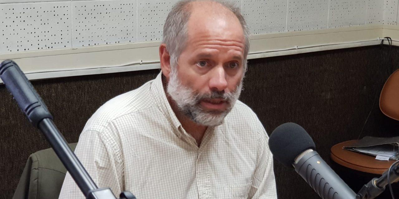 """""""En Santa Lucía vamos a hacer una usina nueva porque tenía problemas en la inundabilidad"""""""