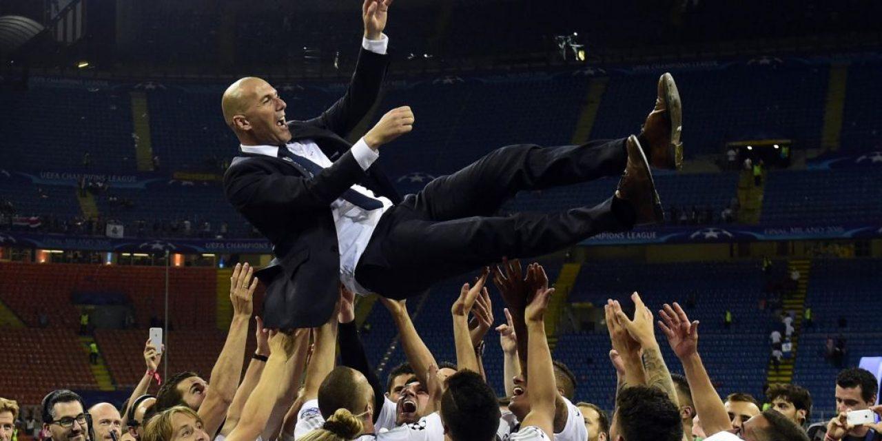En España, dan por confirmada la vuelta de Zidane al Madrid