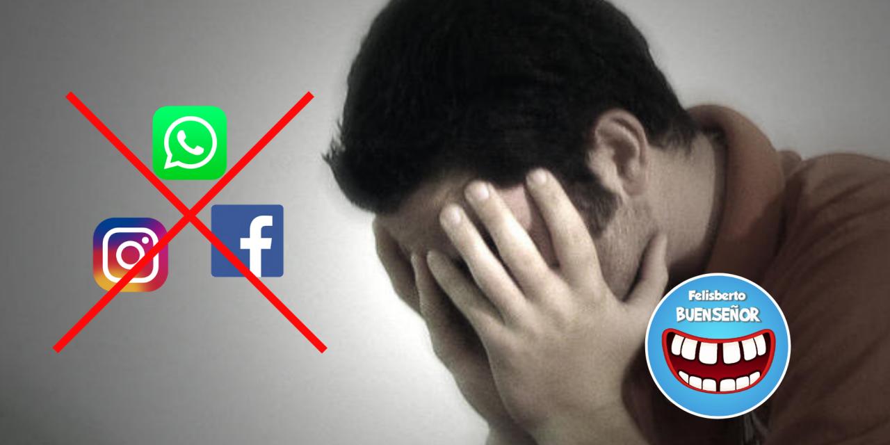 """El terror de un día sin redes sociales: """"sobrevivimos al apocalipsis"""""""