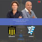 Peñarol vs Cerro en 970 Universal