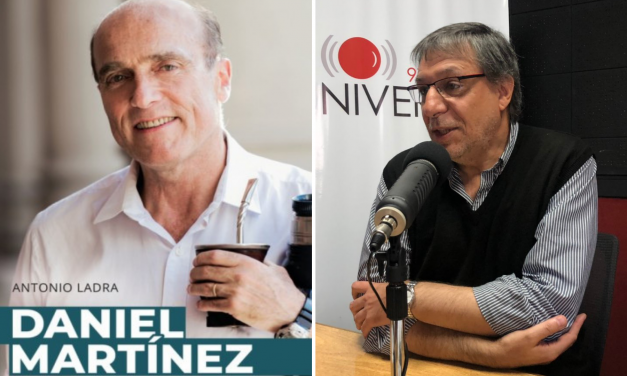 La biografía del precandidato Daniel Martínez, por Antonio Ladra