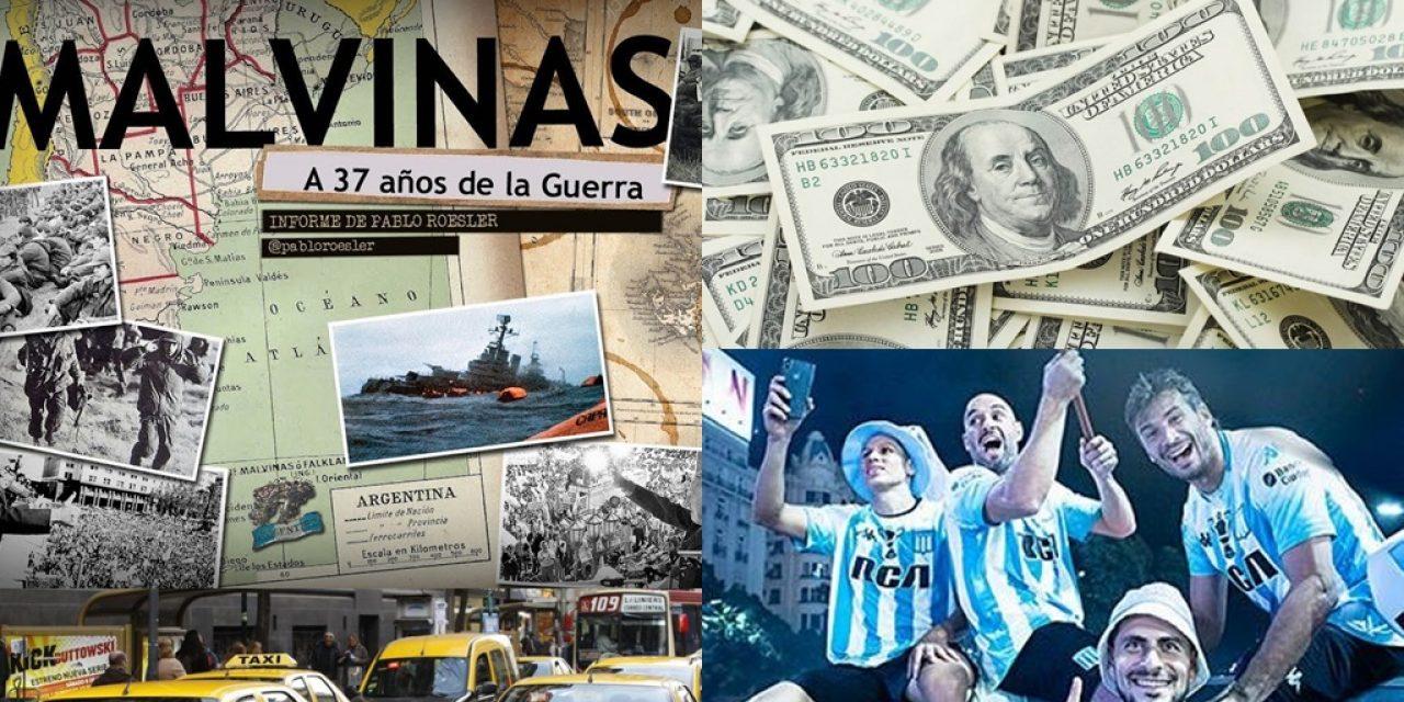"""37 años de la Guerra de Malvinas, el dólar, """"tacheros K"""" y Racing campeón"""