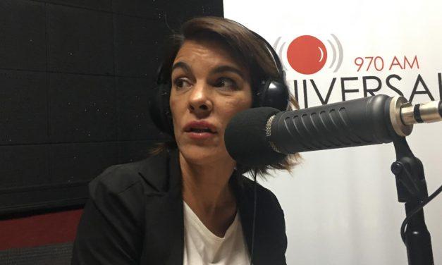 """Victoria Rodríguez: """"No me gusta cuando me veo en televisión"""""""