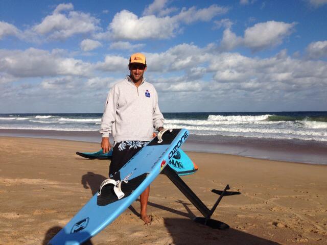 El uruguayo vicecampeón mundial master de Kitesurf en Italia