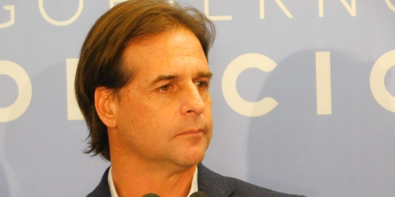 "Lacalle Pou señaló a Bergara como ""corresponsable del desastre que dejan"""