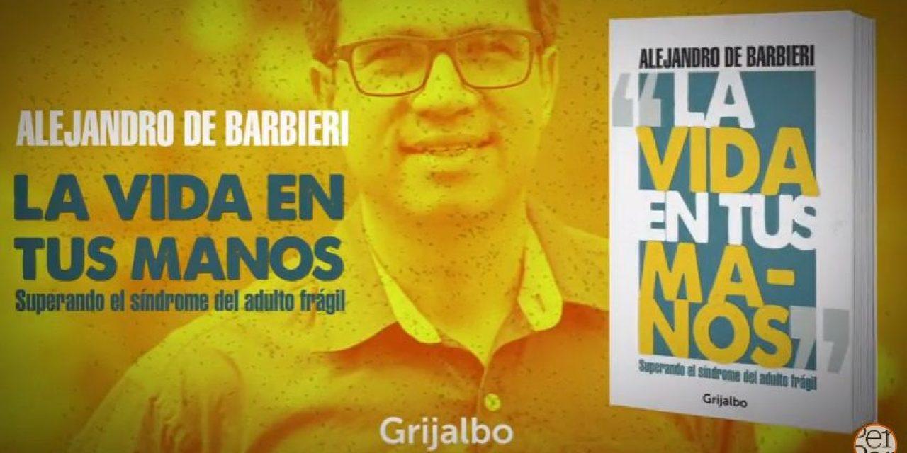 """De Barbieri presenta su libro """"La vida en tus manos"""", en beneficio a FUNDAPPAS"""