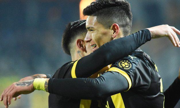 Goleada aurinegra y hat-trick de Núñez
