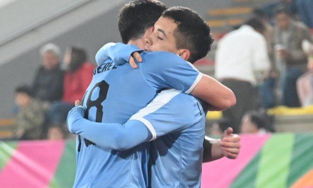Leo Fernández marcó dos tantos en el triunfo celeste