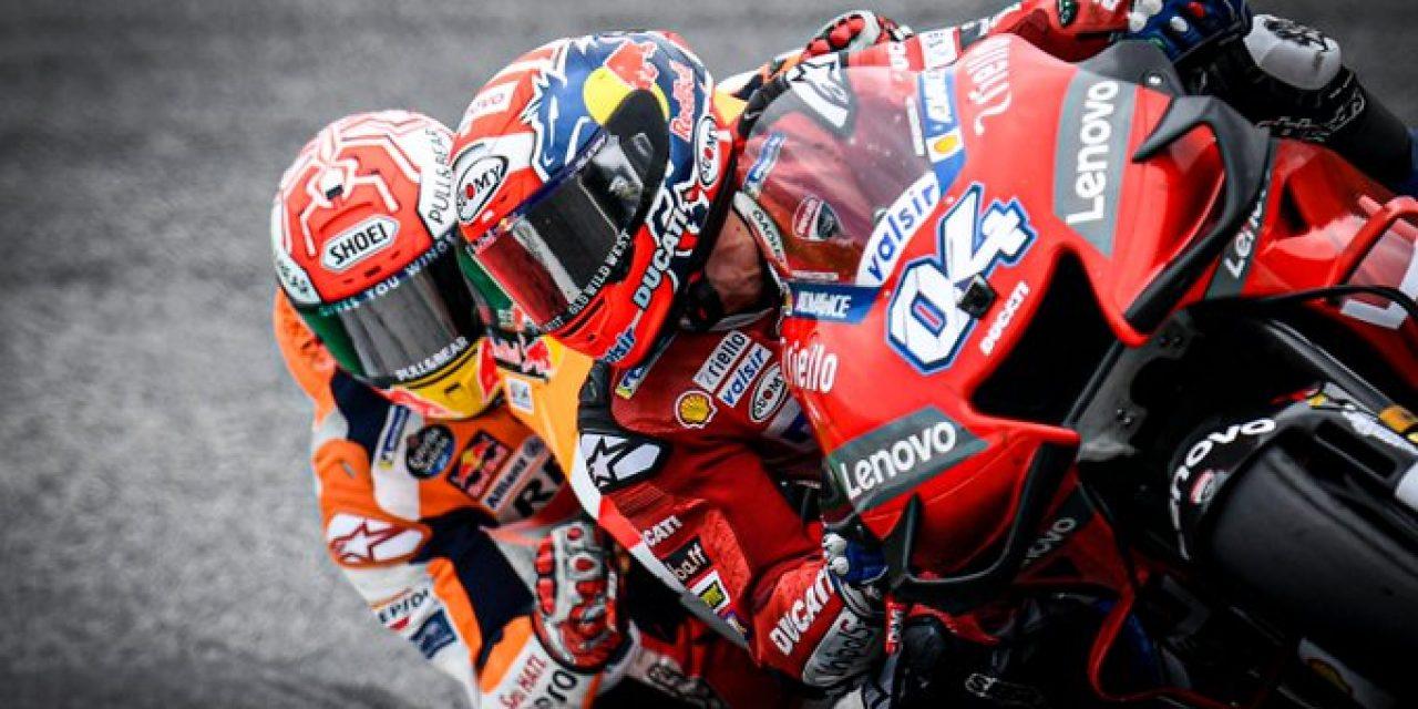Dovizioso esperó hasta el final para ganar