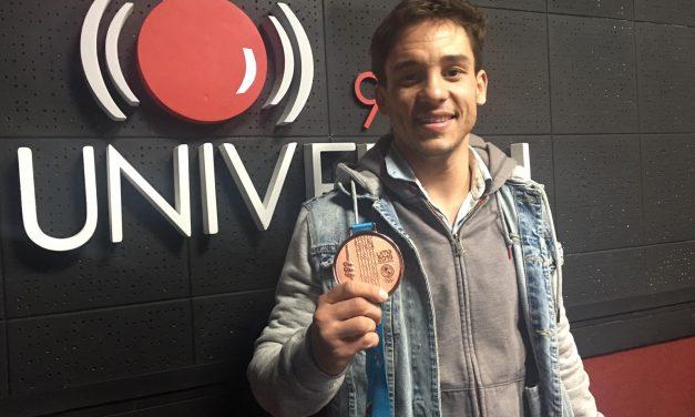 Maxi Larrosa es el uruguayo que ganó el bronce de karate en los Panamericanos