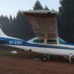 Investigan aparición de una avioneta boliviana abandonada en Paysandú
