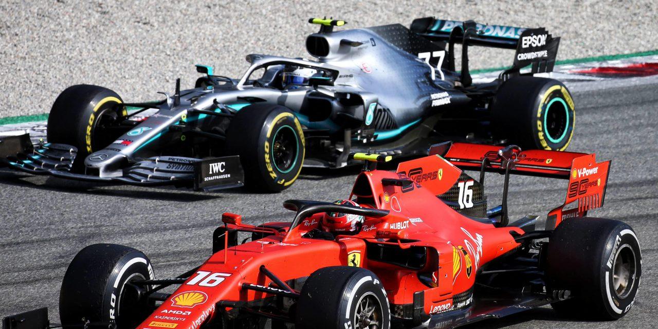 Leclerc devolvió a Ferrari la victoria en su casa