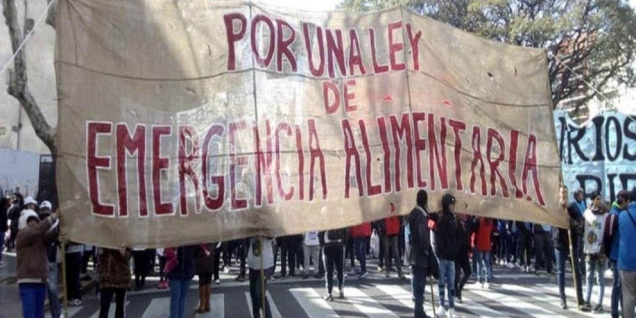 """La emergencia alimentaria """"se esta debatiendo en Argentina y tendría """"un costo de 10 mil millones de pesos"""""""