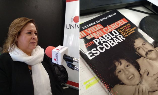 """Henao, viuda de Pablo Escobar: """"Vivía con un psicópata"""""""