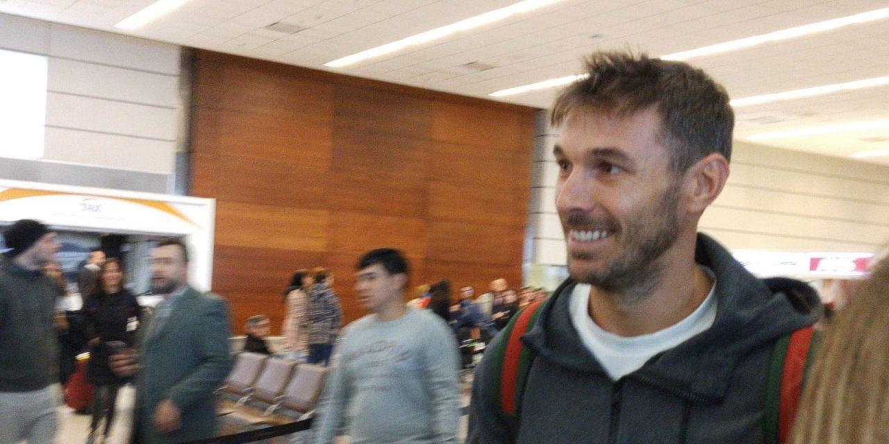 Xisco llegó a Uruguay y se pone a la orden