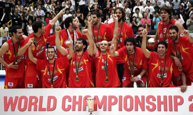 España, campeona del mundo de basket por segunda vez