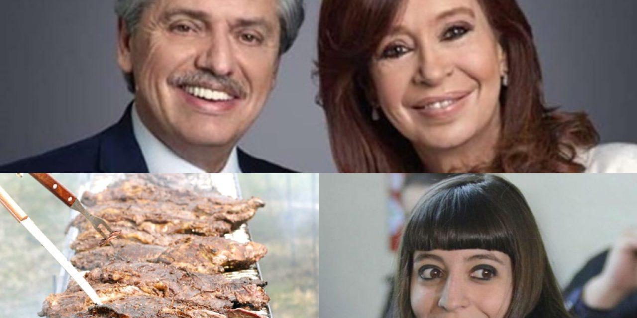 Encuestas dan ganador a Fernández, el asado de 2.000 kg y Florencia Kirchner que no vuelve de Cuba