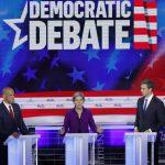 Debates en EEUU: mínimo de intención de votos en encuestas y necesidad de donaciones económicas para participar