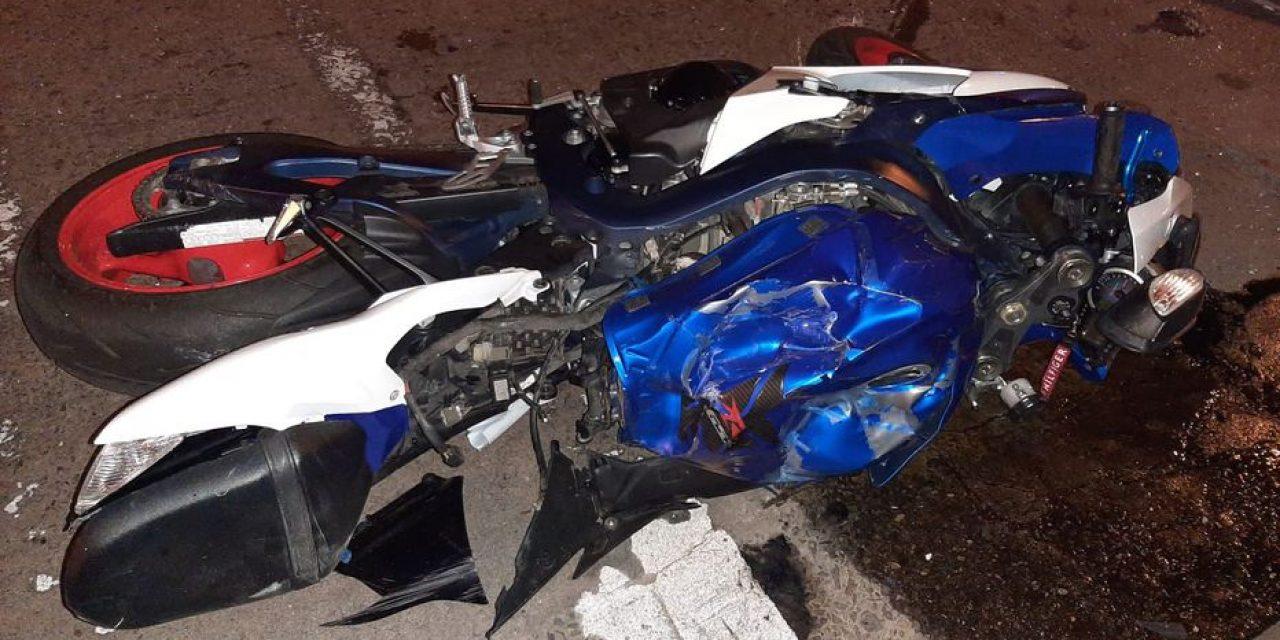 """Luis Alberto """"Betito"""" Suárez grave tras chocar en moto"""