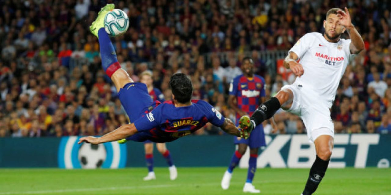 Suárez vuelve a su mejor forma