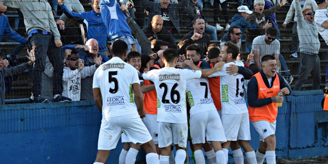 Romero llegó sobre el final para dar la victoria negriazul