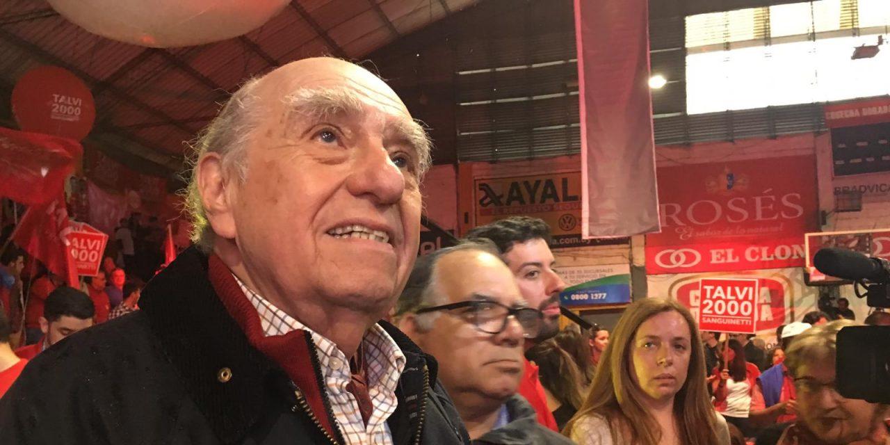 Sanguinetti asumió como secretario general del Partido Colorado