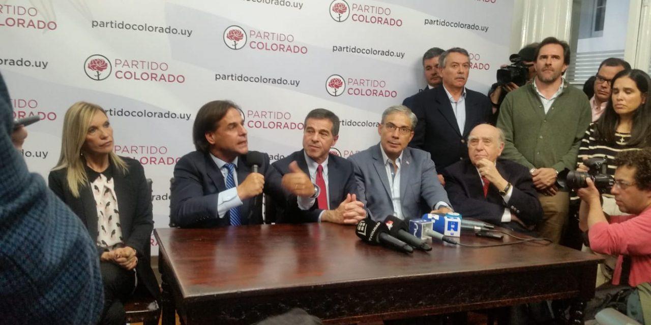 """Partido Colorado comenzó análisis de Ley de Urgencia """"para definir una posición lo antes posible"""""""