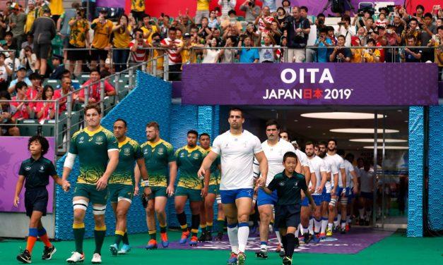 Mundial de Rugby: Uruguay cayó 45 a 10 ante Australia en digno partido