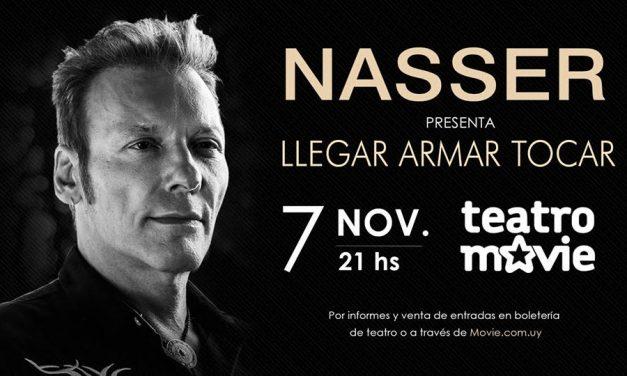 Jorge Nasser vuelve a los escenarios de Montevideo