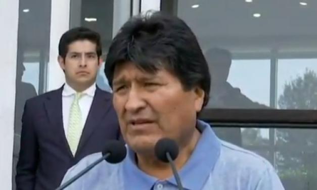 Evo Morales pidió por Mujica, Rodríguez Zapatero y la UE para mediar en Bolivia