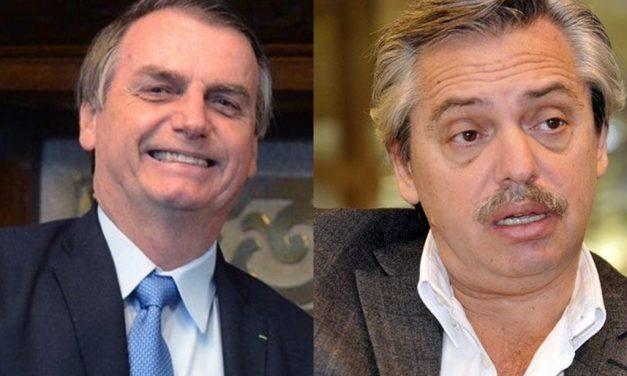 Bolsonaro acompañará a Lacalle en su posible asunción y Fernández aclaró que su relación será igual de buena que con Martínez