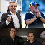 Gabinete confirmado, Maradona que se va y la llegada de Federer