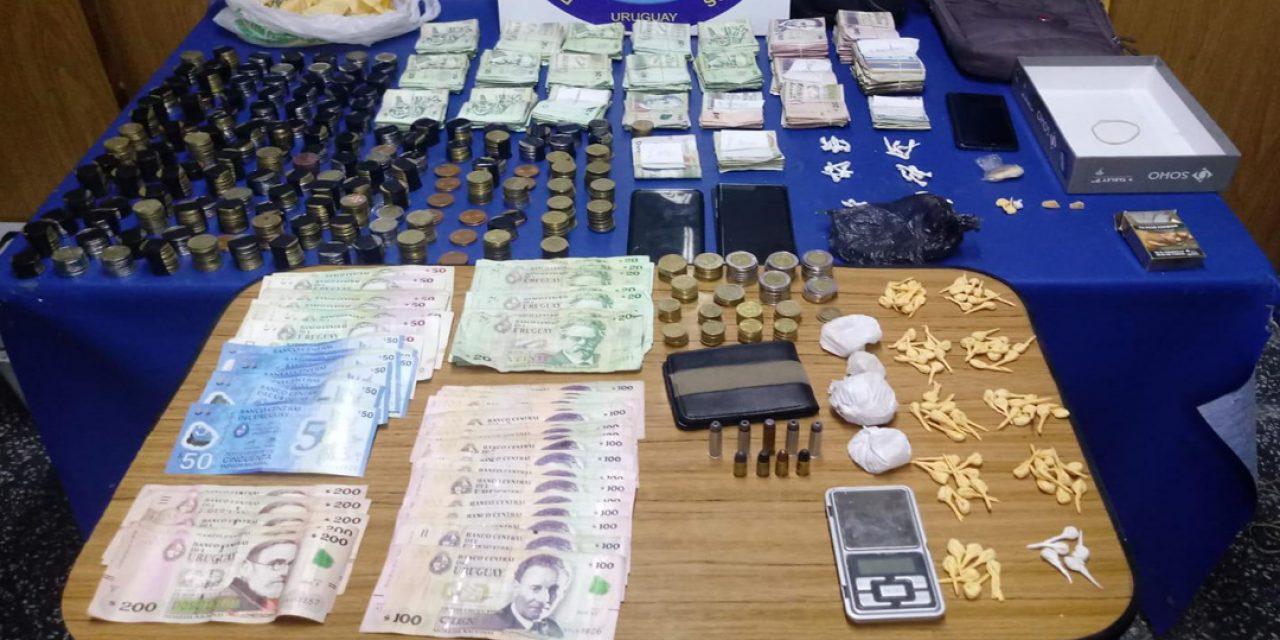 Operativo antidroga en el Centro de Montevideo resultó con 7 detenidos