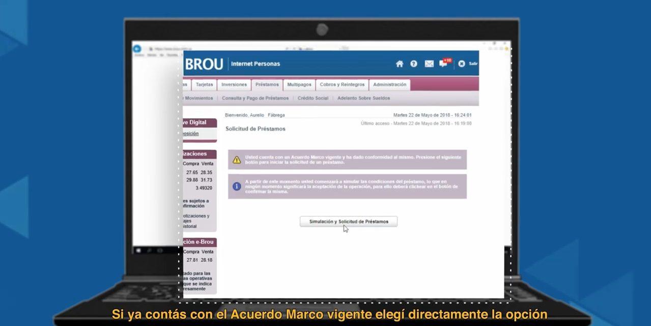 Jubilados tendrán préstamo del Brou disponible a partir del 5 de diciembre