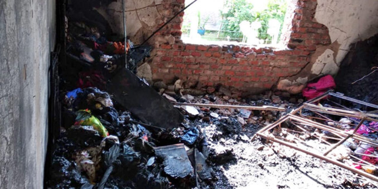 Un cortocircuito en un ventilador causó pérdidas totales a una familia de Paysandú