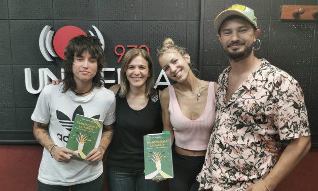 "Psicóloga Roxana Gaudio presenta el libro ""Transformar la pareja"""