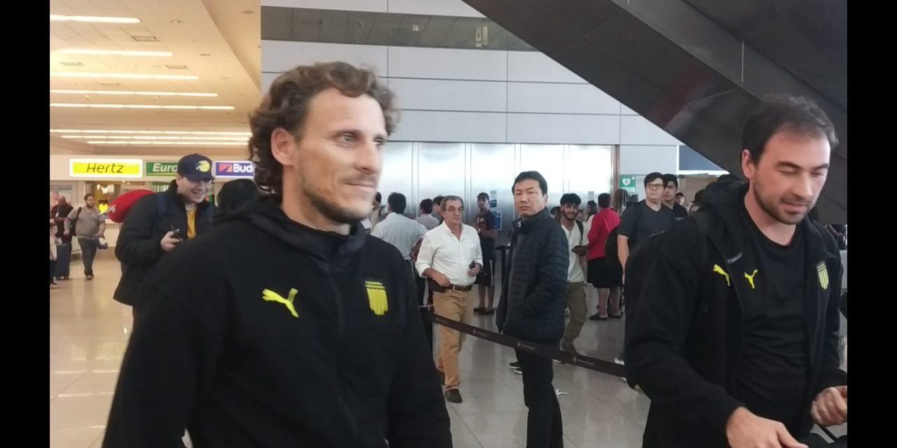 Forlán: «Esperemos tener al Cebolla contra Belgrano»