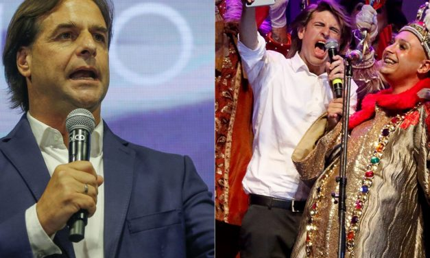 """¿Irá Lacalle Pou a ver a """"Rusito"""" González, el parodista que lo imita? La columna de Fernando Tetes"""